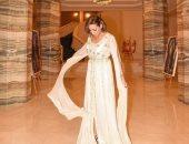 صور.. إطلالة مغربية للفنانة ريم البارودى من عرض أزياء فى الإمارات