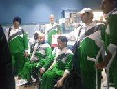 صور.. جولة بمتحف مطار القاهرة للمنتخب السعودى لكرة السلة على الكراسى المتحركة