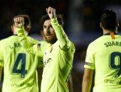 برشلونة يقترب من تحطيم رقم جوارديولا القياسى فى هز شباك المنافسين