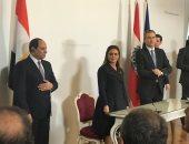 السيسي ومستشار النمسا يشهدان توقيع عدد من مذكرات التفاهم بين القاهرة وفيينا
