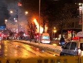 إصابة 42 شخصا فى انفجار هائل يدمر مطعما شمال اليابان