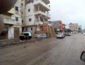 صور.. توقف حركة الصيد بكفر الشيخ لهطول الأمطار وسوء الأحوال الجوية