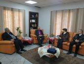 """رئيس إنجيلية مصر لـ""""أمين مجلس كنائس الشرق الأوسط"""": نهدف لتعزيز روح الانفتاح"""