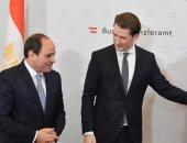 """السيسى على """"تويتر"""": مصر والنمسا تربطهما علاقات وثيقة نطمح لتعزيزها مستقبلا"""