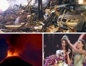 صور.. العالم هذا الصباح.. الفلبين تفوز فى مسابقة ملكة جمال الكون للمرة الرابعة.. تجدد انفجار بركان جبل سوبوتان بوسط إندونيسيا.. وإصابة 42 شخصا فى انفجار هائل يدمر مطعما شمال اليابان