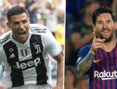 270 دقيقة تحسم الصراع بين ميسي ورونالدو على لقب هداف 2018