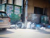 قارئ يشكو انتشار القمامة بشارع البحر بمدينة سوهاج