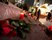 صور.. وقفة بالشموع والورود فى الذكرى الثانية لضحايا حادث الدهس فى برلين