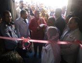 افتتاح قسم بنك الدم بمستشفى كوم أمبو المركزى بأسوان.. صور
