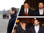 من فرحة حفل التخرج بالكلية الحربية للبكاء على مقبرة الجد..ابن سعد الحريرى× 10 صور