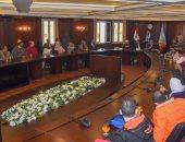 نائب محافظ الإسكندرية يشيد بدور العاملين من ذوى القدرات الخاصة