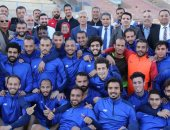 محافظ المنوفية يتفقد نادى جمهورية شبين الكوم ويؤكد دعمه لفريق كرة القدم