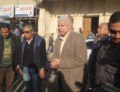 مدير أمن شمال سيناء يتفقد مقرات اللجان الانتخابية فى العريش