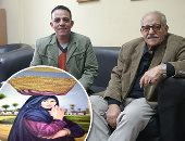 """فيديو وصور.. موهبة عم سيد رسام بنى سويف: """"كنت ببيع اللوحة بـ25 قرشا"""""""
