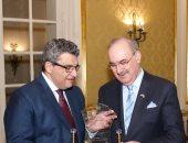 مساعد وزير الخارجية يكرم السفير العراقى بالقاهرة بمناسبة انتهاء فترة عمله