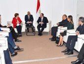 رئيسة البنك الدولى تؤكد للسيسى الرغبة فى التعاون مع مصر  للتمويل التنموى بأفريقيا