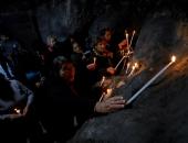 """صور.. مسيحيو فلسطين يحتفلون بأعياد القديسة """"بربارة"""" رغم انتهاكات الاحتلال"""