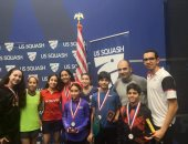 تفوق مصرى فى بطولة أمريكا المفتوحة لناشئى الاسكواش