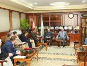 محافظ كفر الشيخ يستقبل رئيس الجهاز التنفيذى للهيئة العامة لمحو الأمية