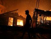 صور.. إجلاء 2000 شخص على الأقل بسبب حريق هائل بضاحية مانوسا بالبرازيل