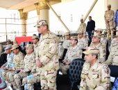 وزير الدفاع يتابع مراحل الإعداد الأساسى لطلبة الكليات والمعاهد العسكرية الجدد