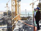 رئيس الوزراء يتفقد مبنى الحكومة فى مدينة العلمين الجديدة