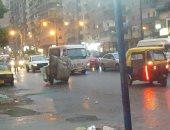 صور.. أمطار متوسطة تضرب الإسكندرية