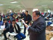 رئيس جامعة حلوان: انتظام الامتحانات والطلاب لم يتأثروا بارتفاع درجة الحرارة