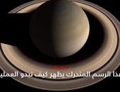 فيديو.. تعرف على موعد اختفاء حلقات كوكب زحل المميزة