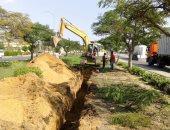إجراءات حاسمة من جهاز مدينة السادات ضد مخالفات الصرف الصناعى
