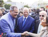"""محافظ القاهرة يفتتح """"شارع 306"""" بألماظة لدعم مشروعات الشباب"""