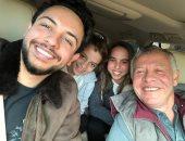 فيديو وصور.. العاهل الأردنى فى نزهة عائلية مع أولاده الثلاثة ..اعرف التفاصيل