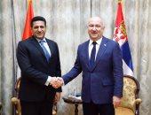 سفير مصر فى بلجراد يبحث مع وزير صربى عقد اجتماعات اللجنة الاقتصادية المشتركة