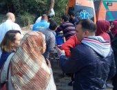 إصابة شخص صدمته سيارة أثناء عبوره الطريق بمدينة السلام