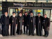 الأنبا موسى أسقف الشباب يصل لندن لإجراء فحوصات طبية