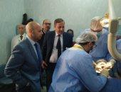 افتتاح أول وحدة زراعة أسنان بمستشفى الزقازيق العام