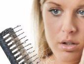علاج تساقط الشعر بطرق سهلة