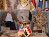 الفريق محمد فريد يلتقى وزير البحرية الأمريكى ويناقشان التعاون المشترك