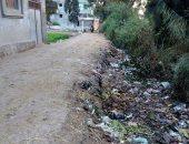شكوى من تراكم القمامة فى مركز السنبلاوين بالدقهلية
