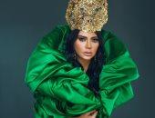 بعد البطانة والهوت شورت الأصفر.. رانيا يوسف بفستان أخضر أكثر إثارة.. صور