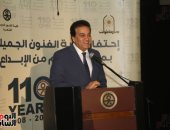 وزير التعليم العالى يدعو طلاب فنون جميلة لتقديم عروضهم بمسرح جامعة القاهرة