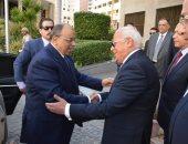 صور.. محافظ بورسعيد يستقبل وزير التنمية المحلية للمشاركة باحتفالات المحافظة