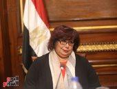 وزيرة الثقافة تحيى 100 باحث عربى وأفريقى.. وتؤكد: نعمل على بناء الإنسان
