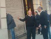 غلق مطعم شهير وسط الإسكندرية لتسببه فى خطر داهم على الصحة