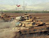 المرصد السورى: وصول 1900 شاحنه وآلية عسكرية و6500 مجند تركى لسوريا خلال 12 يوما