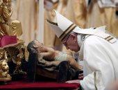 صور.. البابا فرنسيس يترأس صلاة القداس الإلهى بعيد الميلاد المجيد