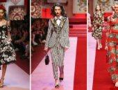 صور.. التنوع وإثارة الجدل عنوان أشهر دور الأزياء العالمية × 2018