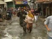 ارتفاع عدد ضحايا الفيضانات إندونيسيا إلى 26 شخصا