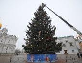 تعرف على مواصفات شجرة الكرملين فى عيد الميلاد المجيد.. فيديو