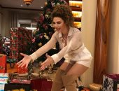 Merry Christmas.. ميريام فارس تحتفل بعيد الميلاد مع جمهورها بصور جديدة